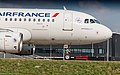 Air France A319 just arrived at Schiphol Airport (33552339366).jpg