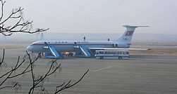 Air koryo IlyushinIl-62M sunan airport.jpg