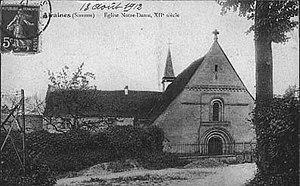 Airaines - Image: Airaines Notre Dame avant 1914