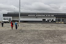 São Tomé and Príncipe-Economy-Airside View of the Terminal Building - São Tomé International Airport