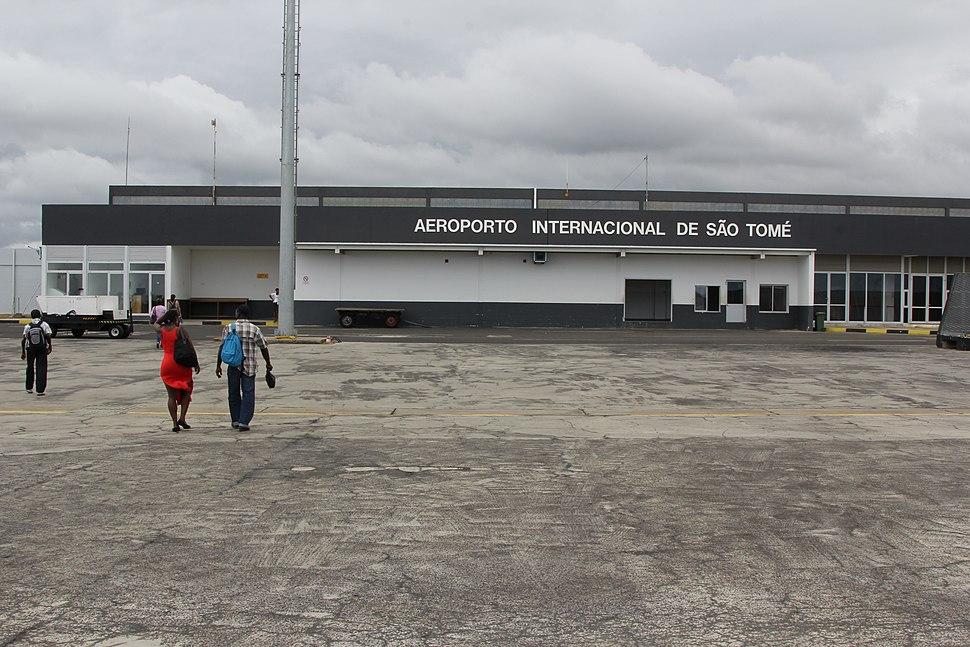 Airside View of the Terminal Building - São Tomé International Airport