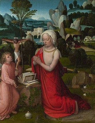 Adriaen Isenbrandt - The Magdalen in a Landscape, c. 1510–1525.