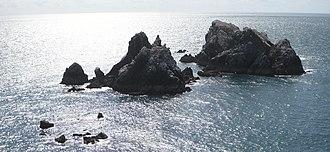 Alderney - Les Étacs – gannet colony