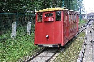 Aleksotas Funicular Railway - Image: Aleksotas, Kaunas, Lithuania panoramio (4)