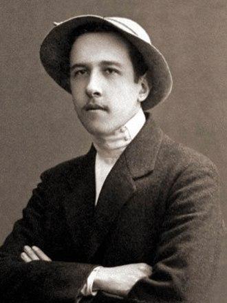 Alexander Chayanov - Chayanov in 1910