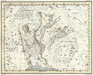 Urania's Mirror - Image: Alexander Jamieson Celestial Atlas Plate 7 restoration crop