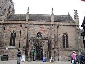 Church reordering - All Saints Church, Hereford