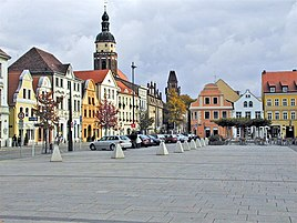 Cottbus Altmarkt (old market square).