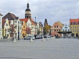 Cottbus Altmarkt (old market square).