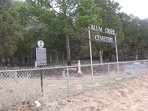 Alum Creek, Texas - Alum Creek Cemetery
