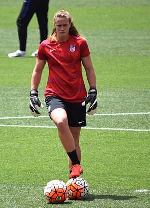 Alyssa Naeher - Naeher with the United States women's national soccer team in June 2016