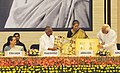 "Ambika Soni released a commemorative Audio-Visual Archival Album of ""Tagore stories on film"", at the inaugural function of 150th Birth Anniversary commemorations of Rabindranath Tagore, in New Delhi on May 07, 2011.jpg"