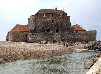 Ambleteuse - Vauban's Fort Mahon and the Slack River in Ambleteuse