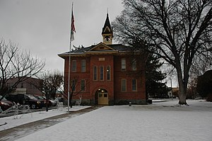 American Fork, Utah - The old city hall is on the National Register of Historic Places.