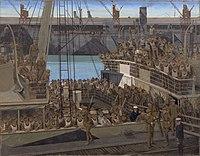 American Troops at Southampton Embarking for France Art.IWMART2323.jpg