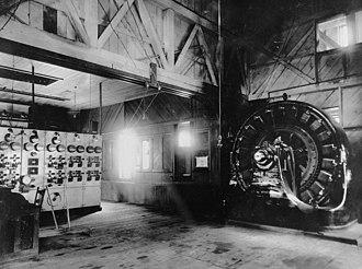 Small hydro - An 1895 hydroelectric plant near Telluride, Colorado.