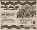 Amstel Beer advertisement 1922.jpg