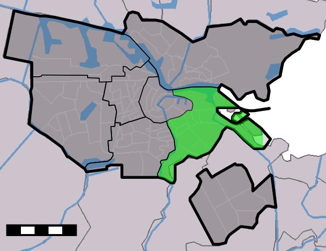 Amsterdam - Stadsdeel Oost
