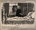 An invalid in bed groaning at his servant's grammatical erro Wellcome V0011406.jpg