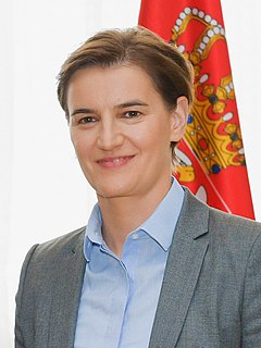 Prime Minister of Serbia Head of the Government of Serbia