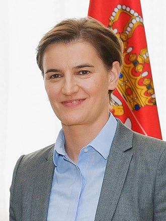 Ana Brnabić - Image: Ana Brnabic, July 3, 2018