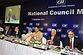 Anand Sharma and the Deputy Chairman, Planning Commission, Shri Montek Singh Ahluwalia at the National Council Meeting of Confederation of Indian Industry (CII), in New Delhi on September 02, 2011.jpg