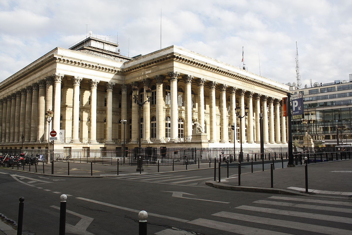 Free Building Design Paris Bourse Wikipedia
