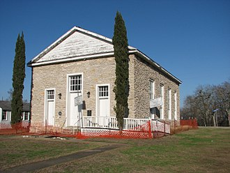 Anderson, Texas - Anderson Baptist Church in 2011