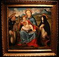 Andrea previtali, madonna col bambino tra i ss. domenico e marta (Banca popolare di BG) 01.JPG