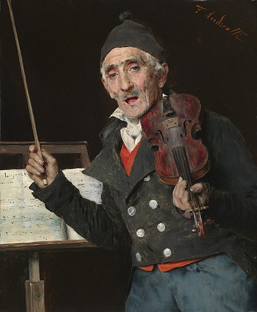 Andreotti, The Violin Teacher