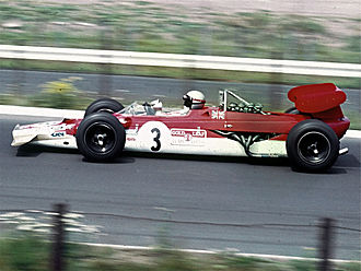 Mario Andretti - Andretti drove his Lotus Type 63 at the 1969 German Grand Prix.