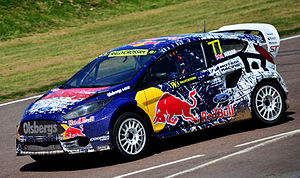 Andrew Jordan (racing driver) - Jordan at the Lydden Hill round of the 2014 WRX season.
