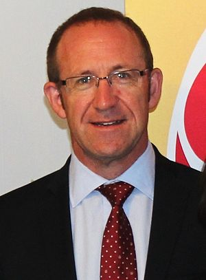 Andrew Little (New Zealand politician) - Image: Andrew Little, 2016