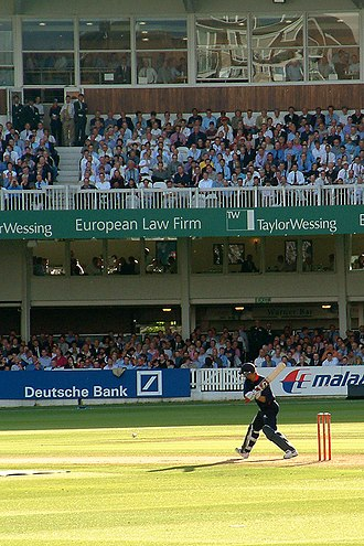 Twenty20 - Former England batsman Andrew Strauss batting for Middlesex against Surrey