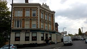 Anerley - The Anerley Arms pub in 2017