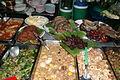 Angebot einer Garküche in Bangkok.JPG