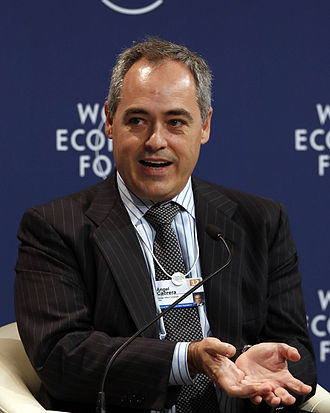 Ángel Cabrera (academic) - Cabrera at the World Economic Forum Annual Meeting of the New Champions in 2012