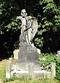 Angel in St Andrew Old Church, Churchyard, Kingsbury, London NW9 - geograph.org.uk - 476647.jpg