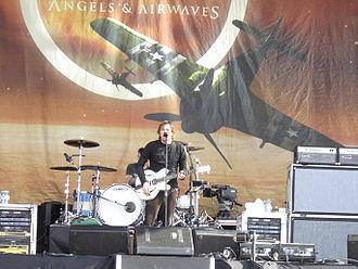 Angels & Airwaves - Angels and Airwaves performing at Hyde Park in June 2006.