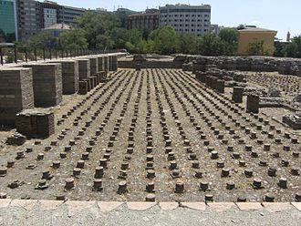 Roman Baths of Ankara - Image: Ankara Roma Hamamı Apoditerium