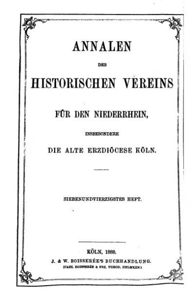 File:Annalen des Historischen Vereins für den Niederrhein 47 (1888).djvu