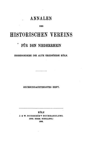 File:Annalen des Historischen Vereins für den Niederrhein 86 (1908).djvu