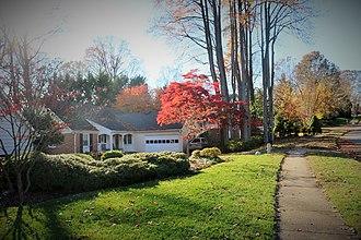 Annandale, Virginia - Suburban Annandale, 2015