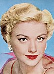 Anne Baxter photo in a Lustre-Creme shampoo advertisement
