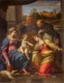 Annibale Carracci Maddona con Bambino e santi.png