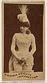Annie Somerville, from the Actors and Actresses series (N45, Type 1) for Virginia Brights Cigarettes MET DP830520.jpg