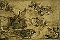 Anoniem, Landschap met schuur - Paysage et grange, KBS-FRB.jpg