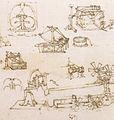 Anonimo da leonardo, studio di macchine, xiv sec., gabinetto disegni e stampe.jpg