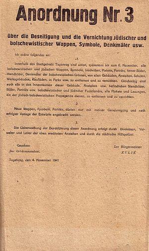 Taganrog during World War II - Image: Anordnung 3 Taganrog