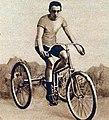 Antony, recordman mondial du kilomètre lancé sur tricycle, en 1 minute 28 sec. (vers 1890).jpg